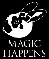 Magic Happens Rabbit Rescue Logo