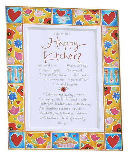 Recipe for a Happy Kitchen