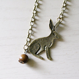 Bunny Poop Necklace