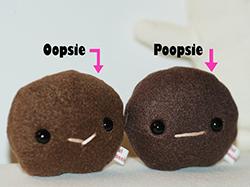 """BFFs """"Oopsie & Poopsie"""" - Bunny Poop Plush Set"""