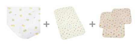Waterproof Flannel Pads for Babies
