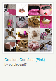 Creature Comforts (Pink)