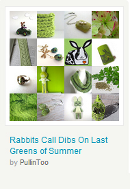 Rabbits Call Dibs On Last Greens of Summer