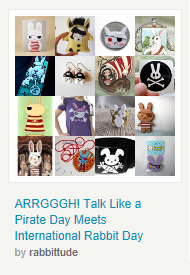 ARRGGGH! Talk Like a Pirate Day Meets International Rabbit Day