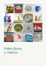 Pottery Bunny