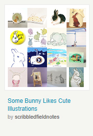 Some Bunny Likes Cute  Illustrations by ScribbledFieldNotes