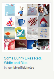 Some Bunny Likes Red, White and Blue