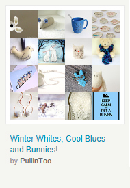 Winter Whites, Cool Blues and Bunnies! by PullinToo