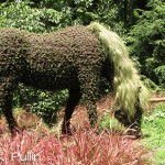 Unicorn at Atlanta Botanical Garden