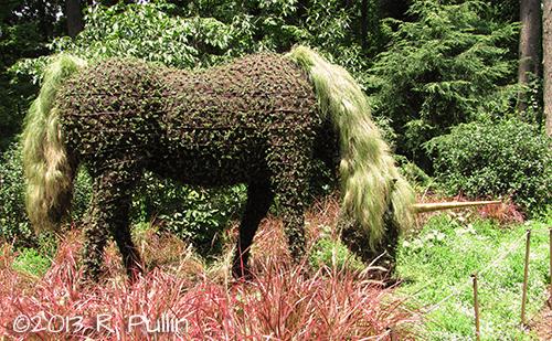 Unicorn at Atlanta Botanical Garden