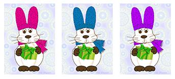 Bunnies Bearing Gifts