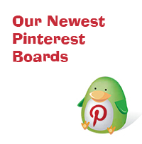 New Pinterest Boards