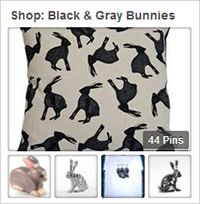 Shop Black & Gray Bunnies