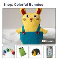 Shop Colorful Bunnies