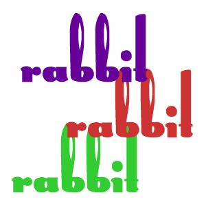 rabbit rabbit rabbit